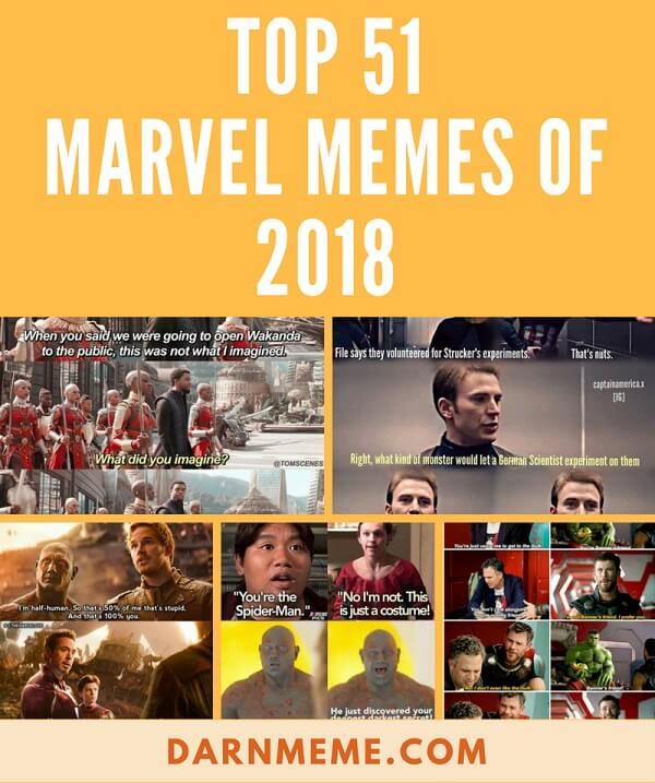 51 Best Marvel Memes 2018