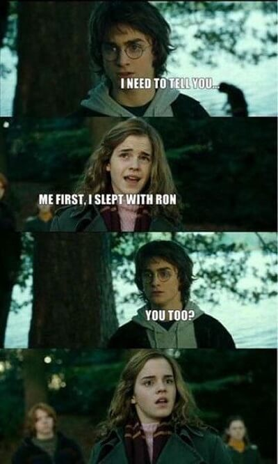 Dirty Harry Potter Memes 10